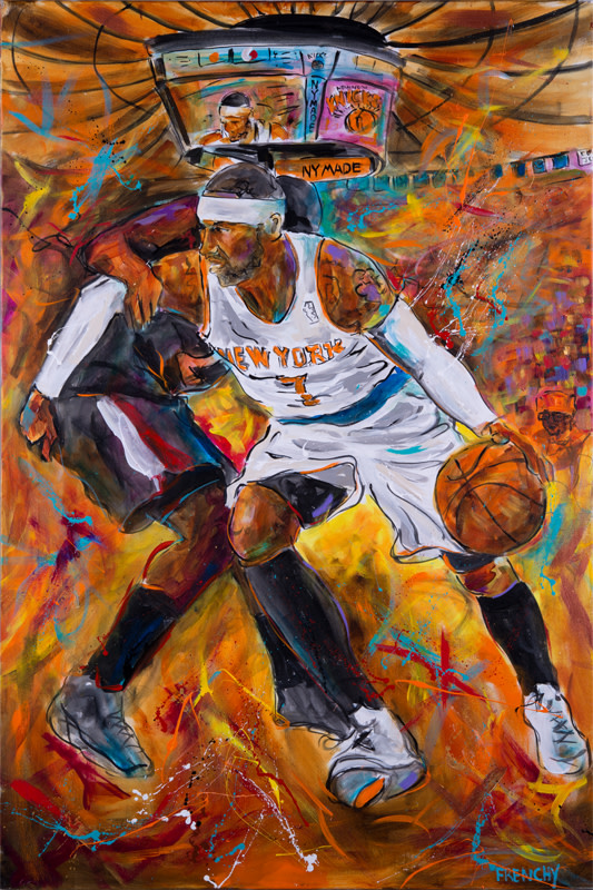 Carmello Anthony by Frenchy