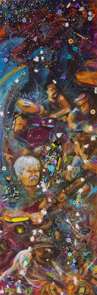 Col Bruce Hampton by Frenchy
