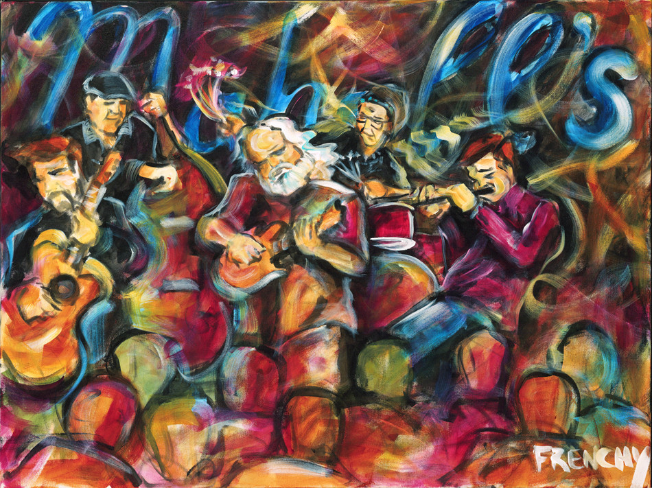 David Grisman Quintet by Frenchy