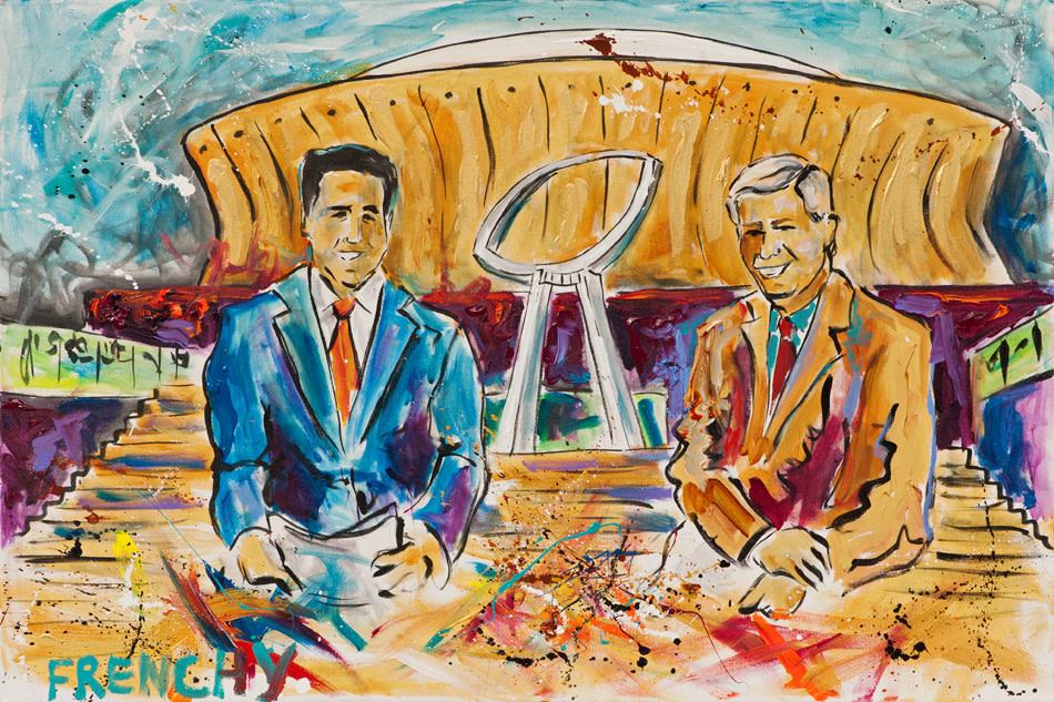 ESPN Superbowl Countdown Mort & Shefty in NOLA by Frenchy
