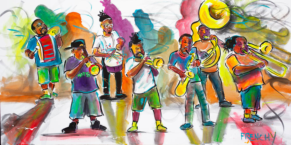 Hot 8 Brass Band by Frenchy