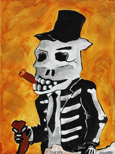 Gold Skull n Bones