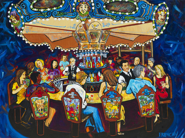 Hotel Monteleon Carousel Bar by Frenchy