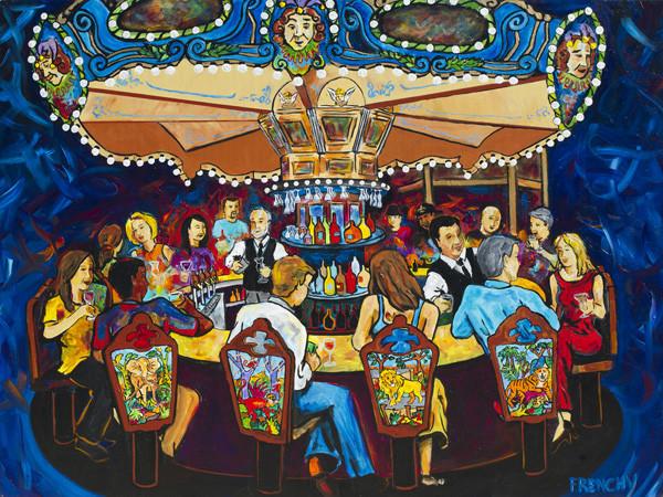 Hotel Monteleon Carousel Bar