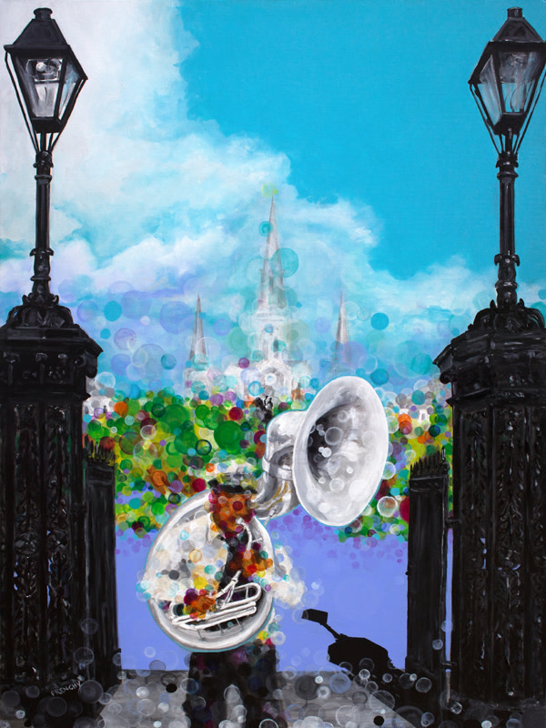 Jackson Square Tuba by Frenchy