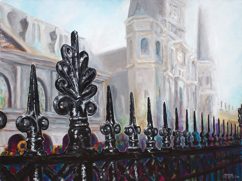 Jackson Square Fence by Frenchy