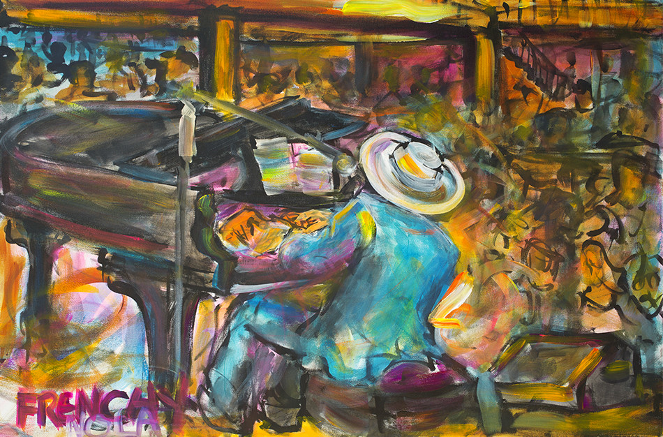 Jon Cleary by Frenchy