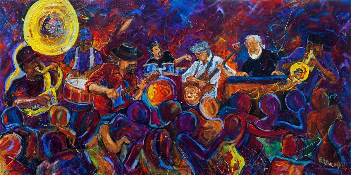 Live Musicians  by Frenchy