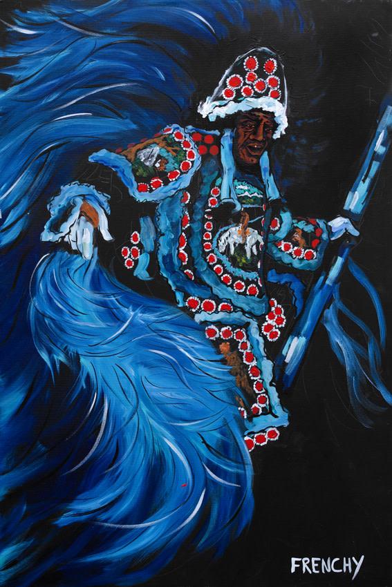Mardi Gras Indian Chief