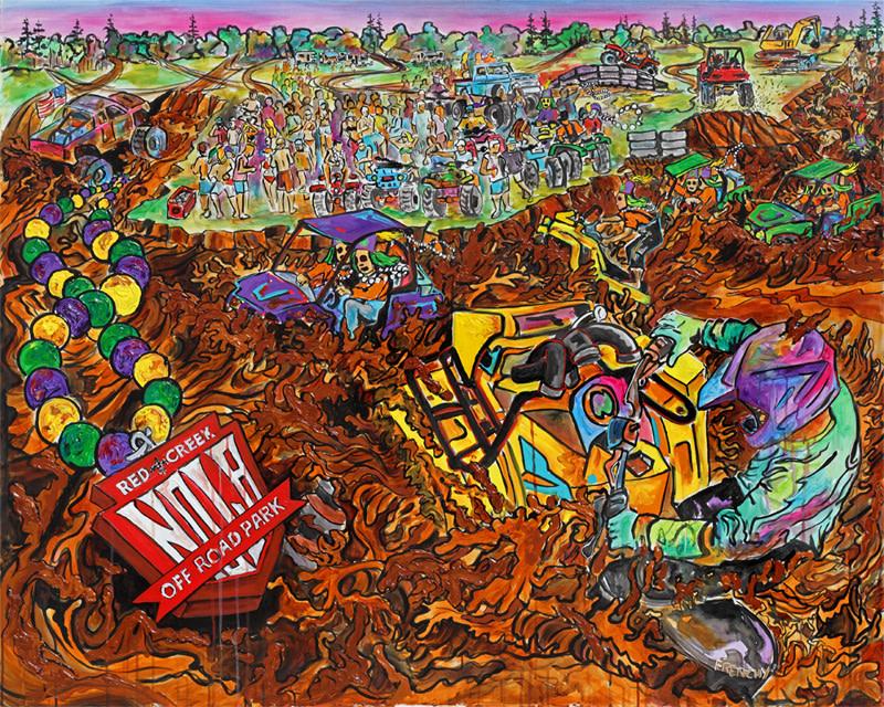 MudVenture One - Mardi Gras 2013