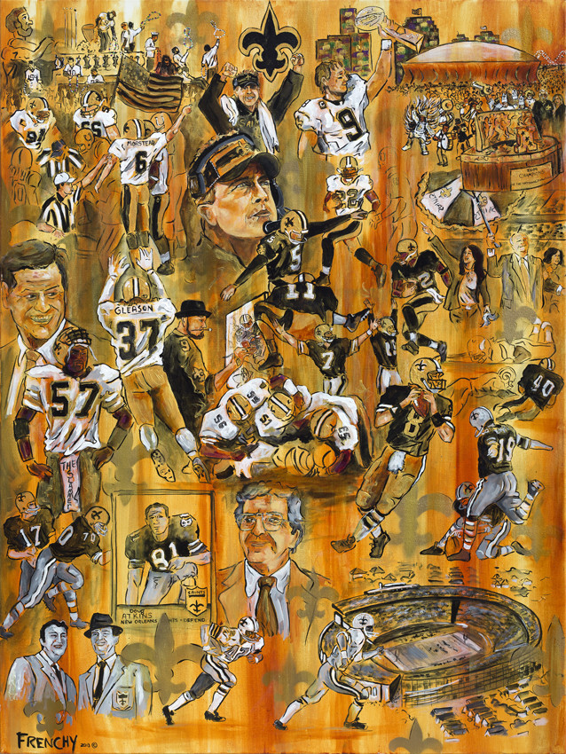 Saints History by Frenchy
