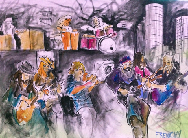 Zach Brown Band by Frenchy
