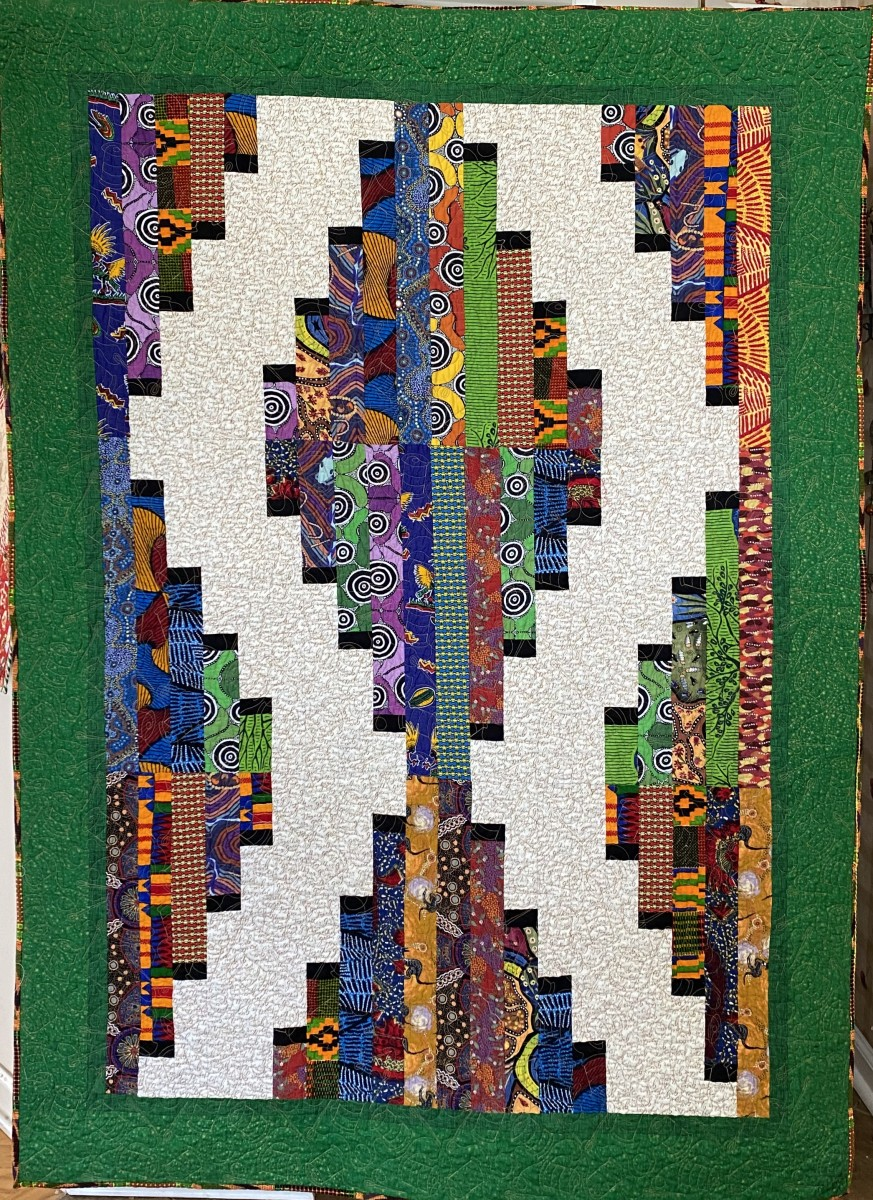 Quilters Gather Together by O.V. Brantley