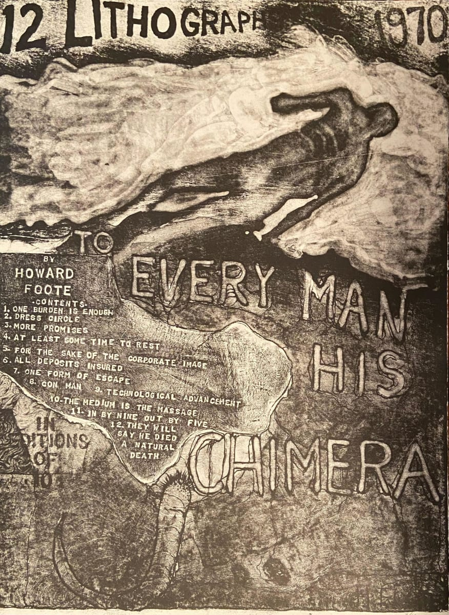 To Every Man His Chimera (10) by Howard Foote
