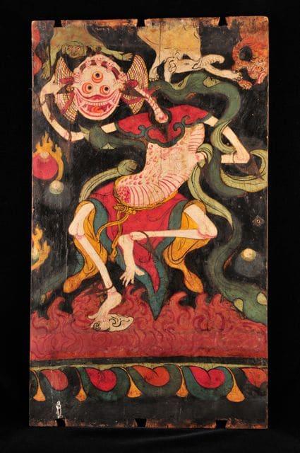 """Shri-Chitipati"" Tibetan, 19th century by Unknown"