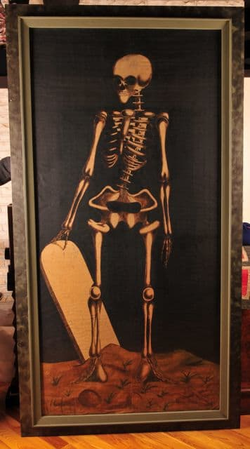 Odd Fellows Skeleton Painting by The Independent Order of Odd Fellows