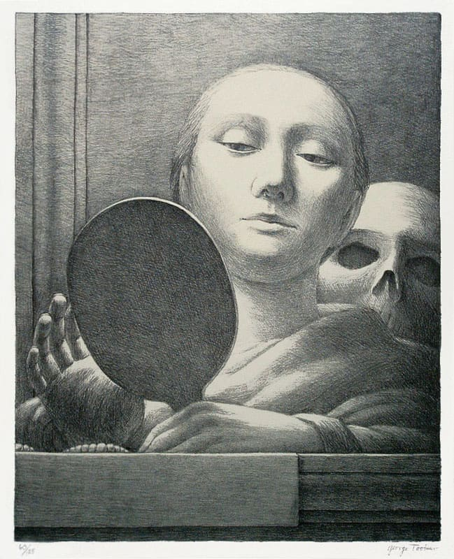 Mirror by George Tooker
