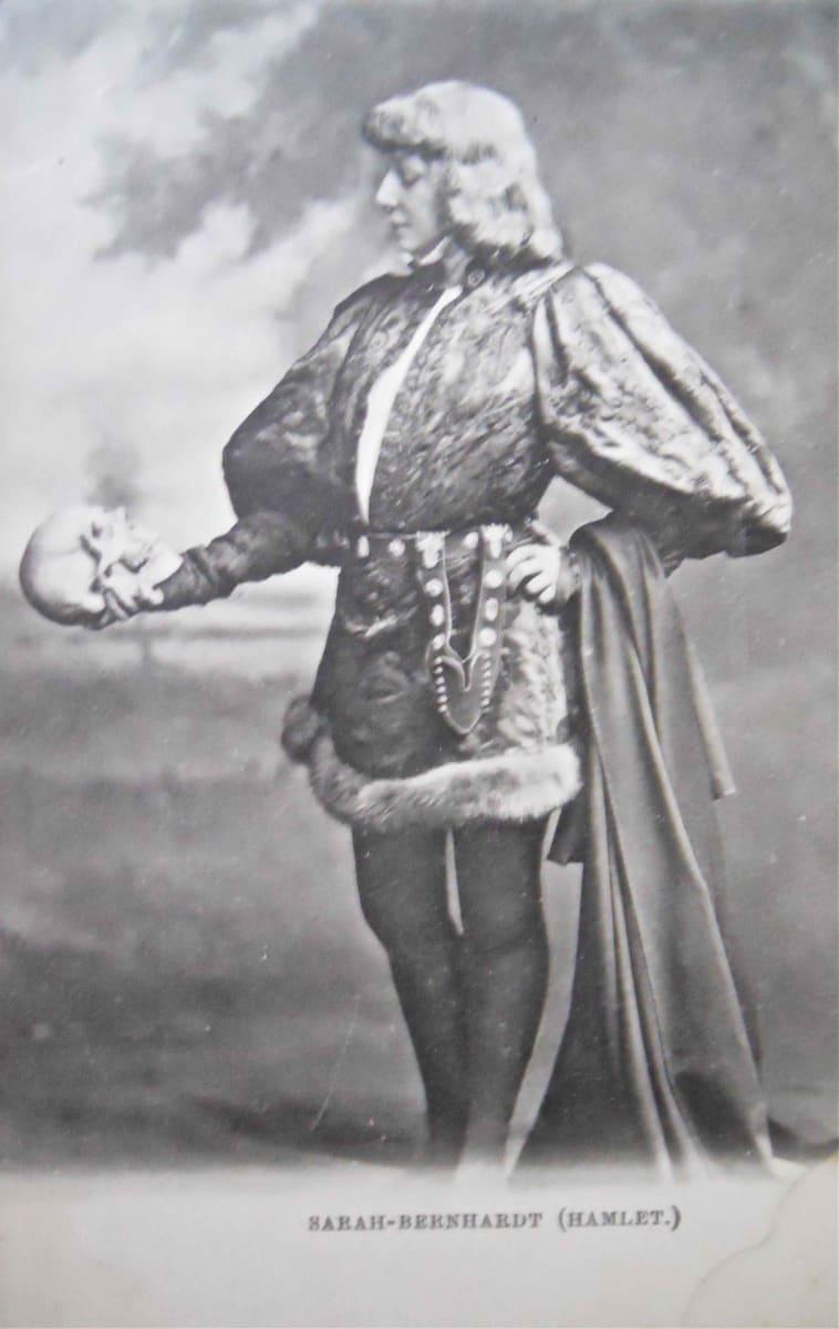 Sarah Bernhardt (Hamlet) by Unknown