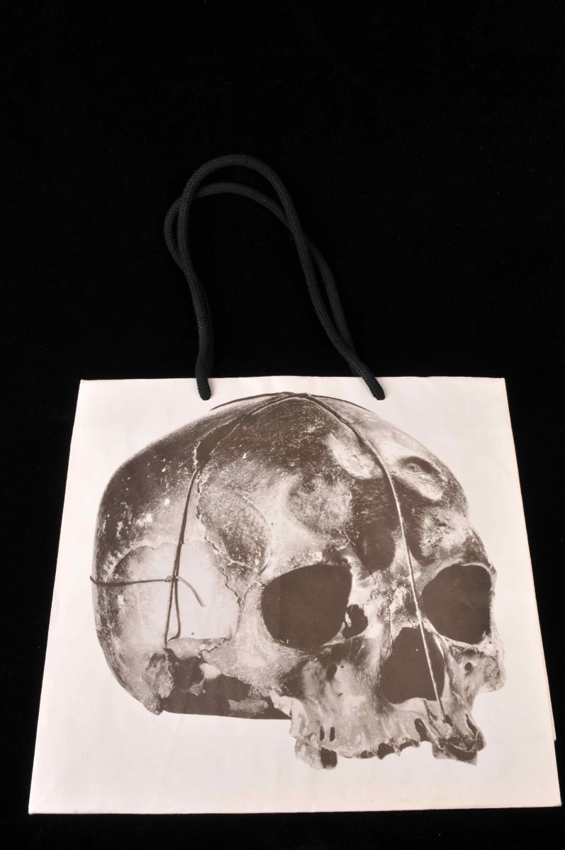 Skull Shopping Bag (1) by Unknown
