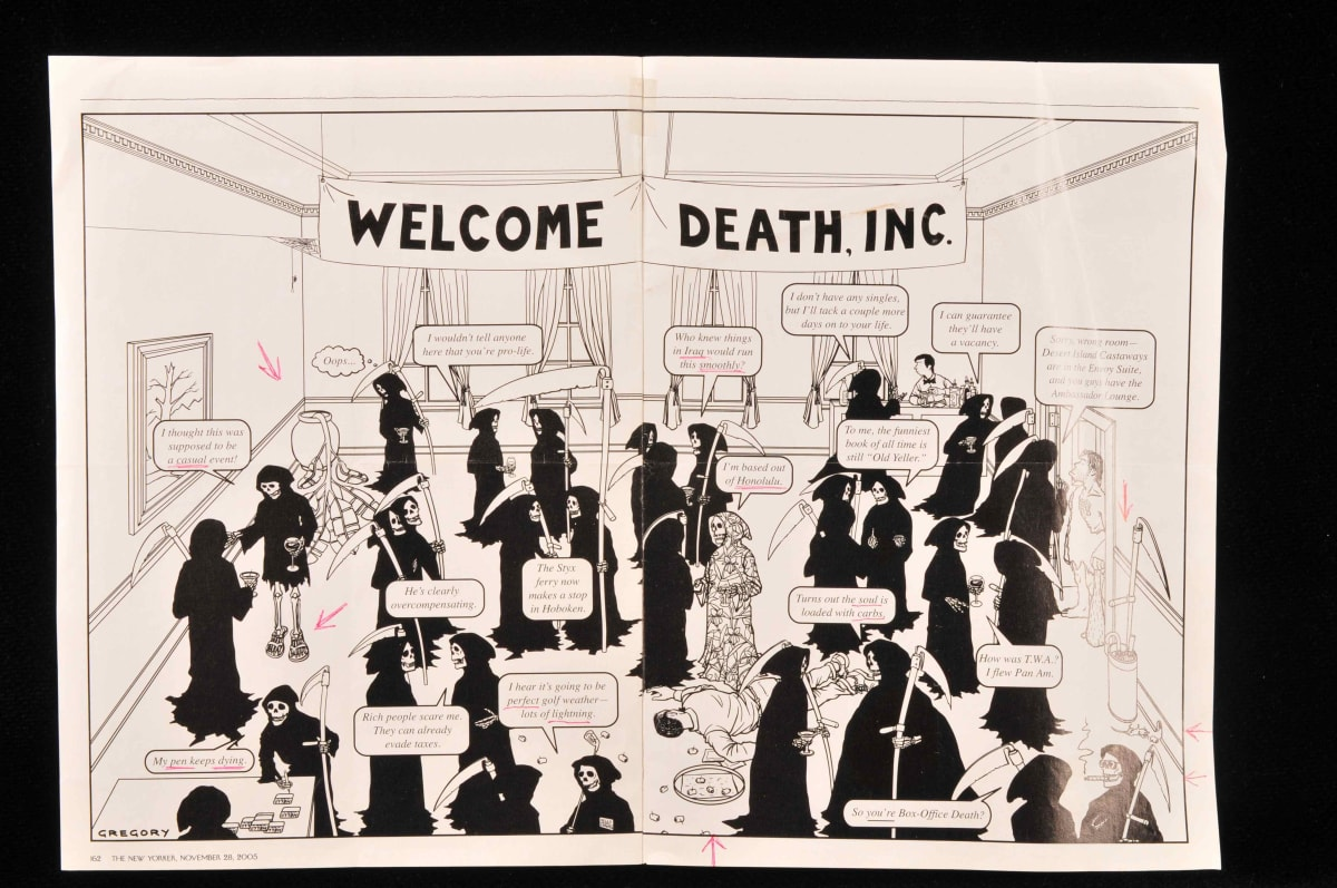 Welcome Death Inc.: The New Yorker (1) by Gregory