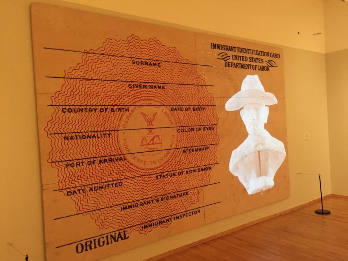 Immigrant Identification Card by Rodrigo Lara Zendejas