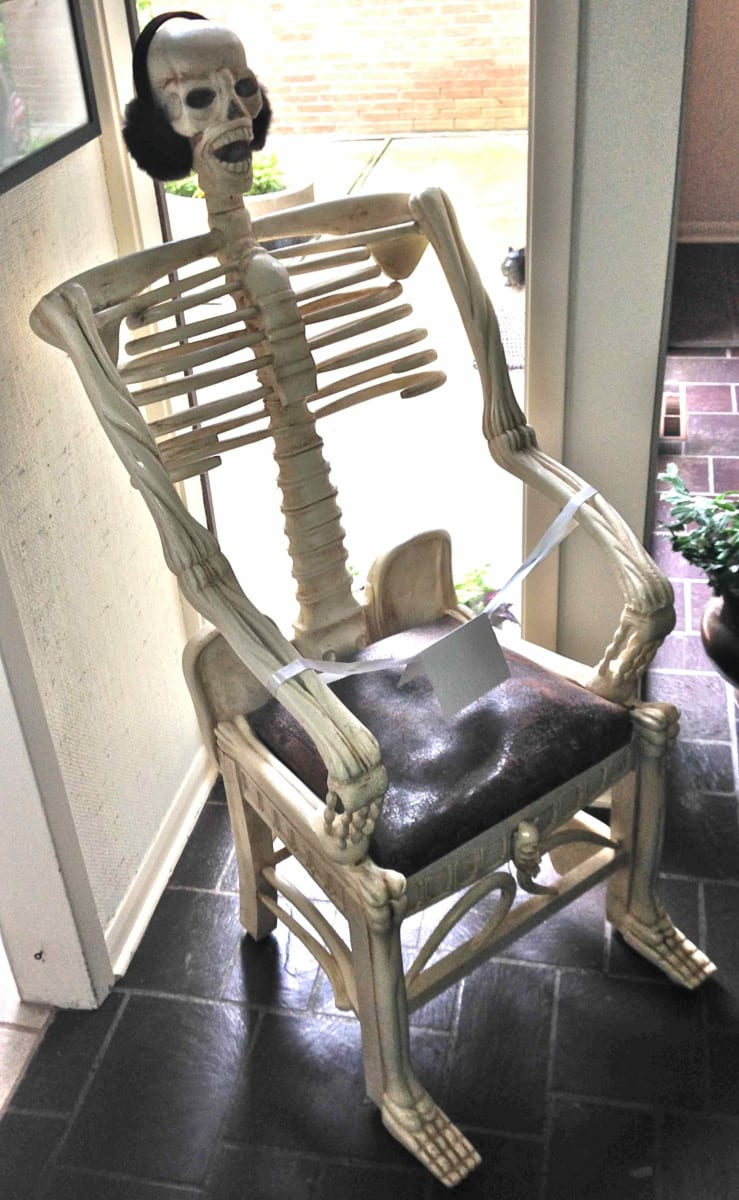 Skeleton Chair (1) by Unknown