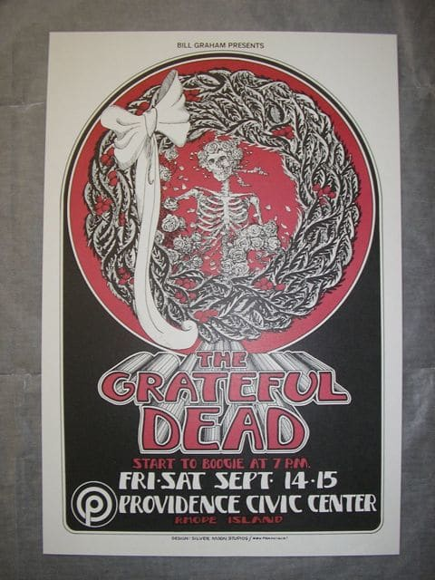Grateful Dead at Providence Civic Center by Randy Tuter