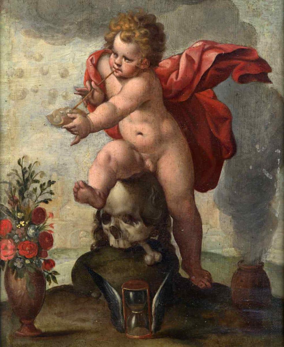 Allegory of Vanity by Follower of Hendrick Goltzius