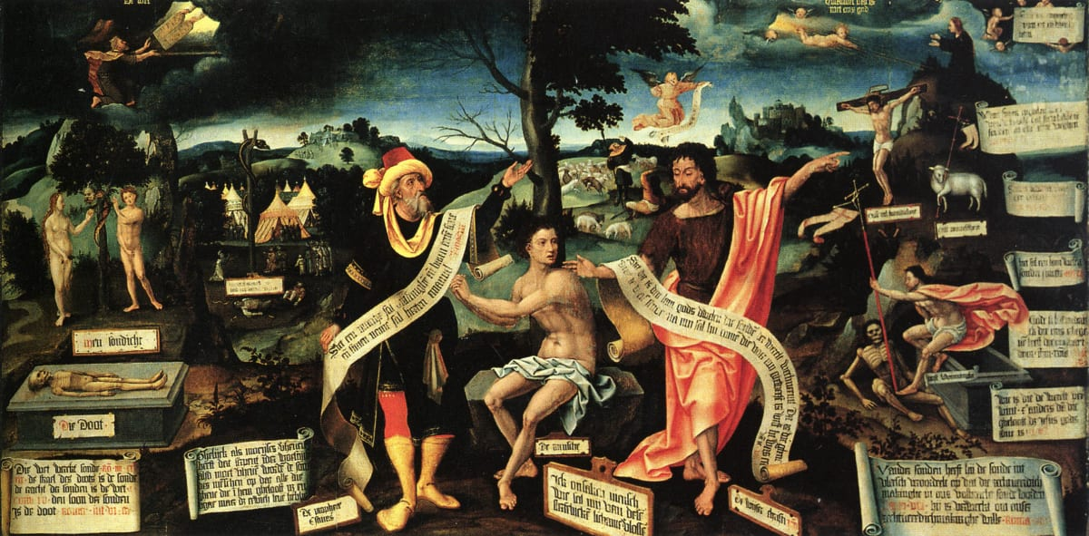 Fall and Redemption of Man by Lower German Master