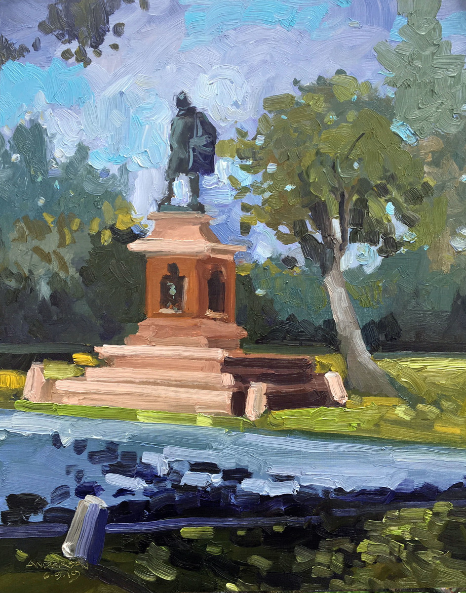 Shakespeare In Tower Grove Park by Michael Anderson