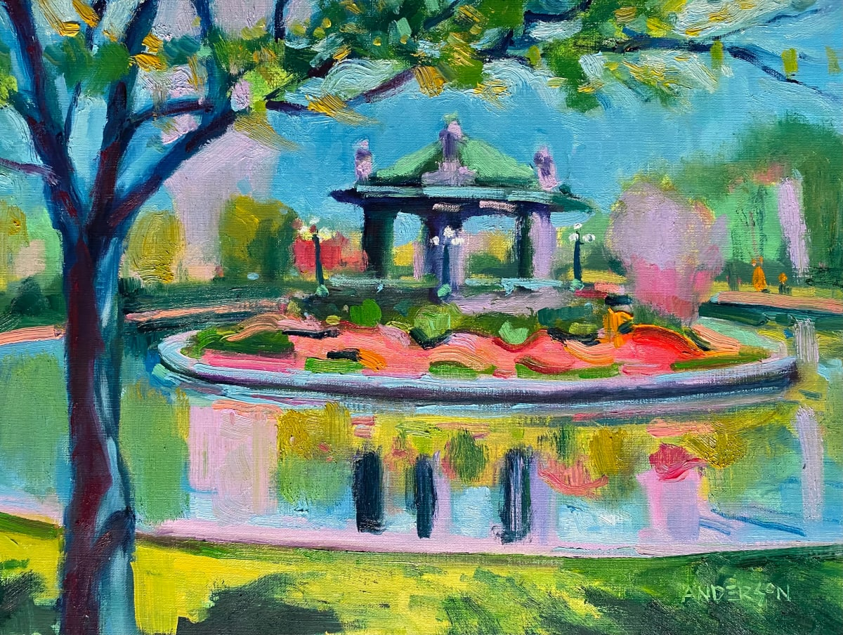 Pagoda Circle, Forest Park, by Michael Anderson