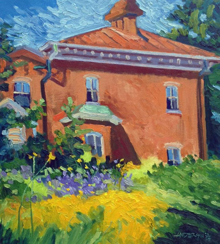 Morning Light, Bascom House, 06/30/16 by Michael Anderson