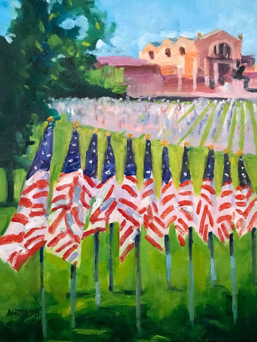 Flags of Valor 2021 by Michael Anderson