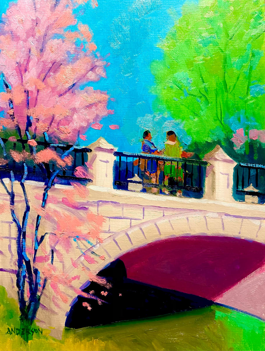 Crossing a Bridge by Michael Anderson