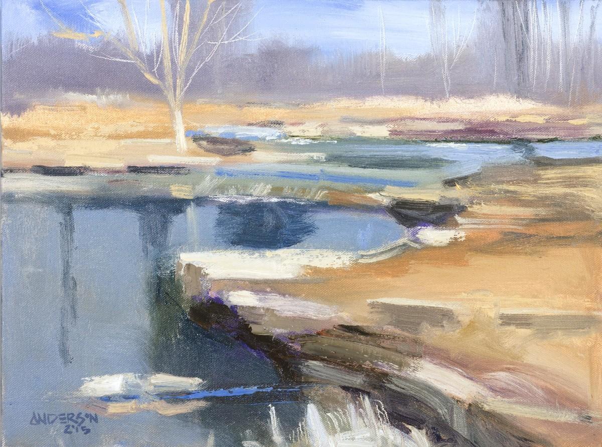 Stream, Winter, 2015