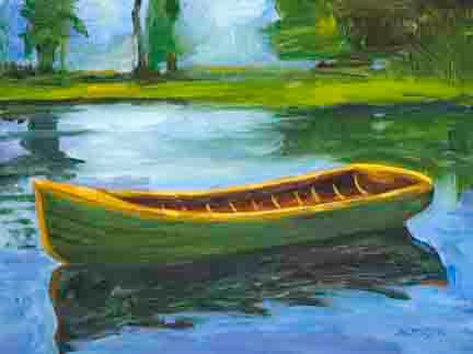 The Green Boat by Michael Anderson