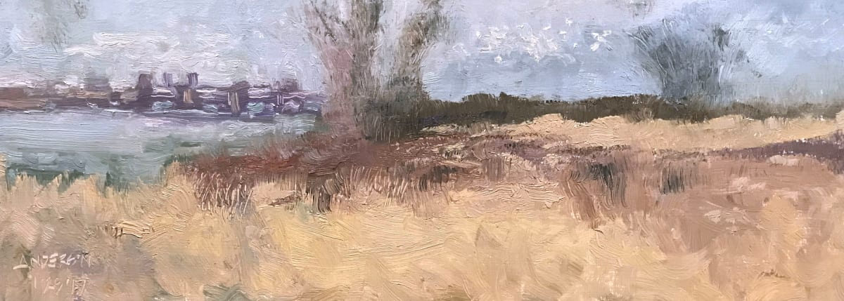 Riverlands, January by Michael Anderson