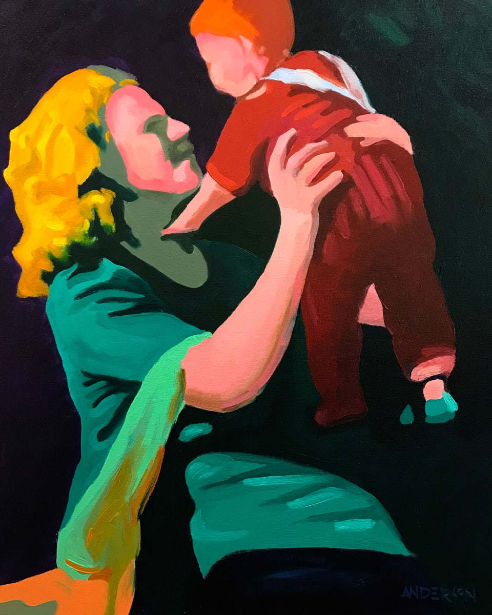 Mother And Child by Michael Anderson