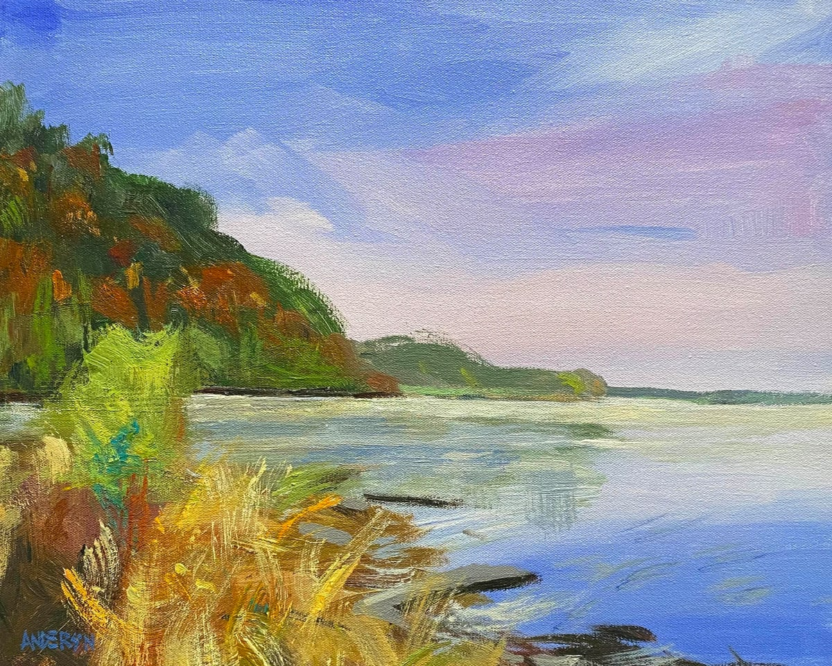 River Road Bluffs by Michael Anderson