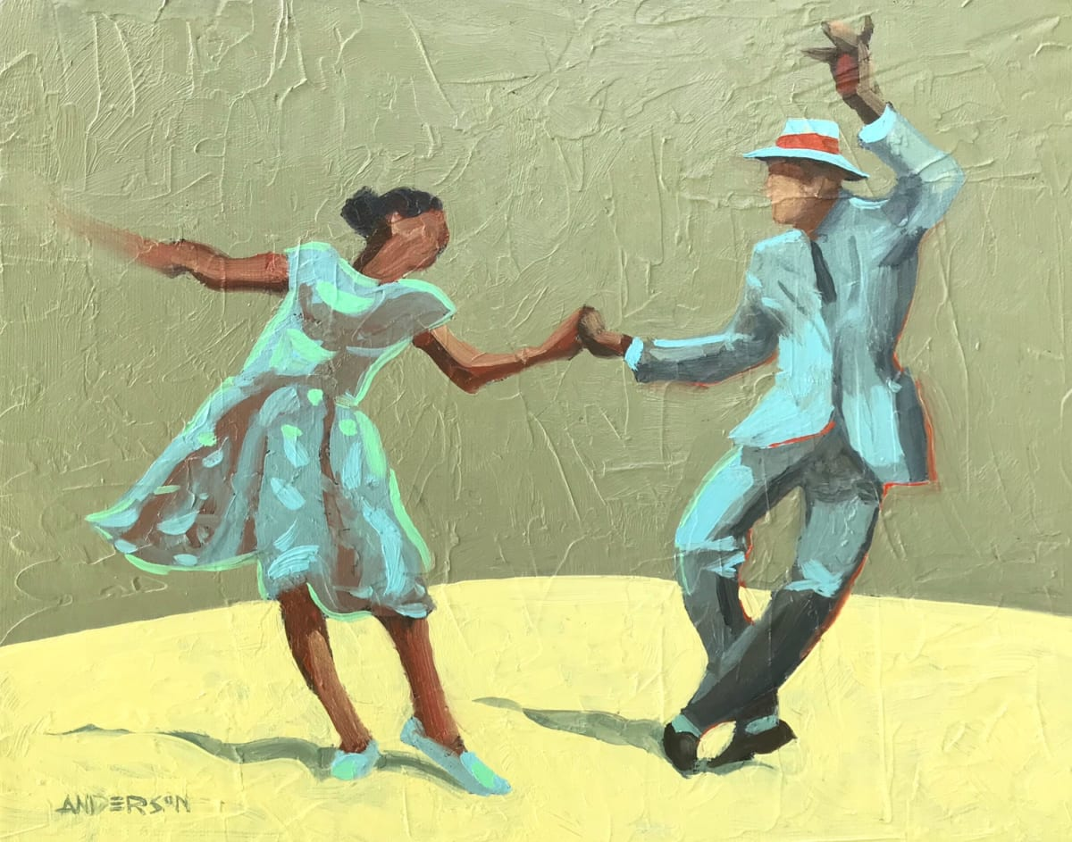Swing Dancers by Michael Anderson