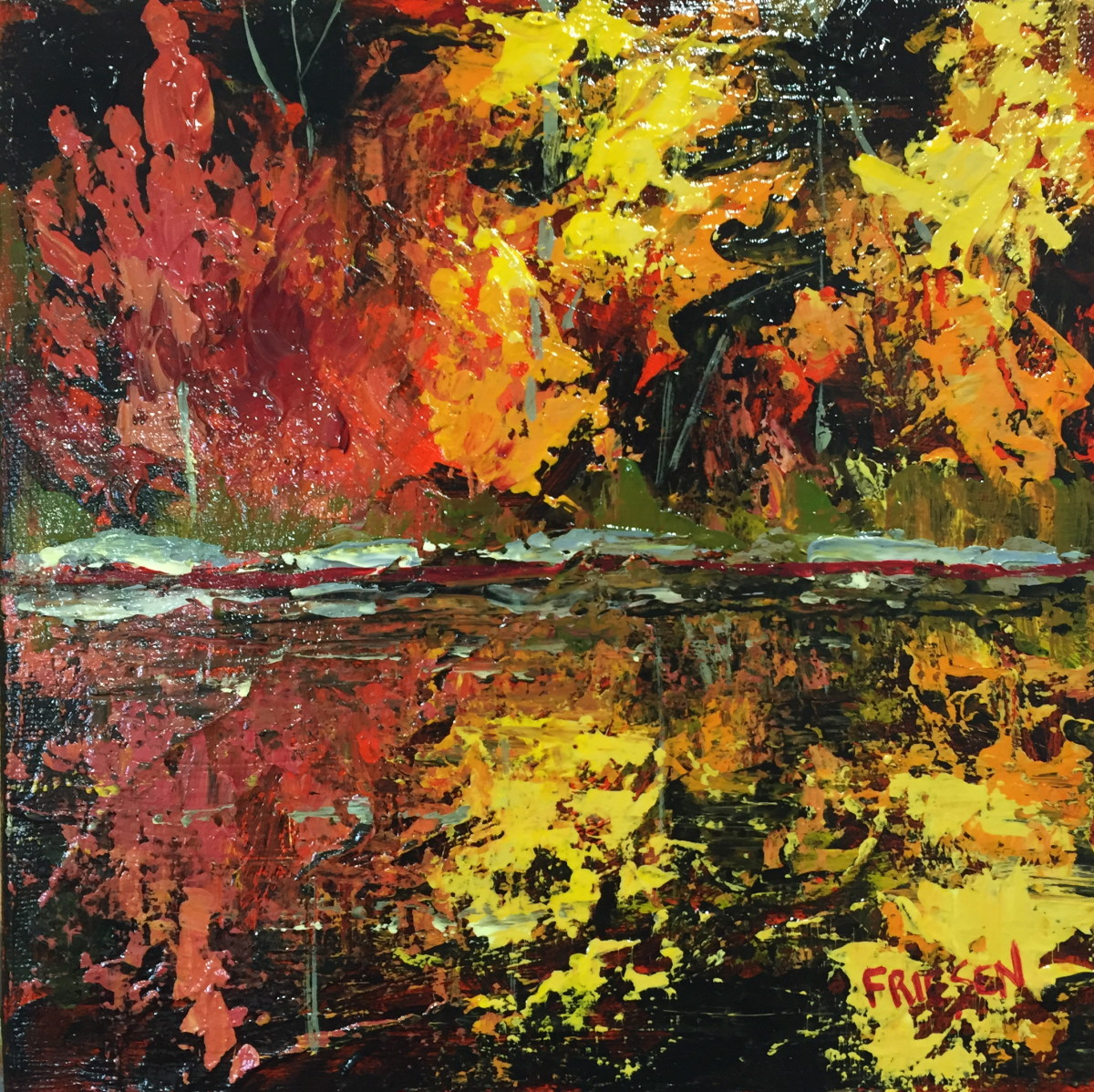 Fire Water by Holly Friesen