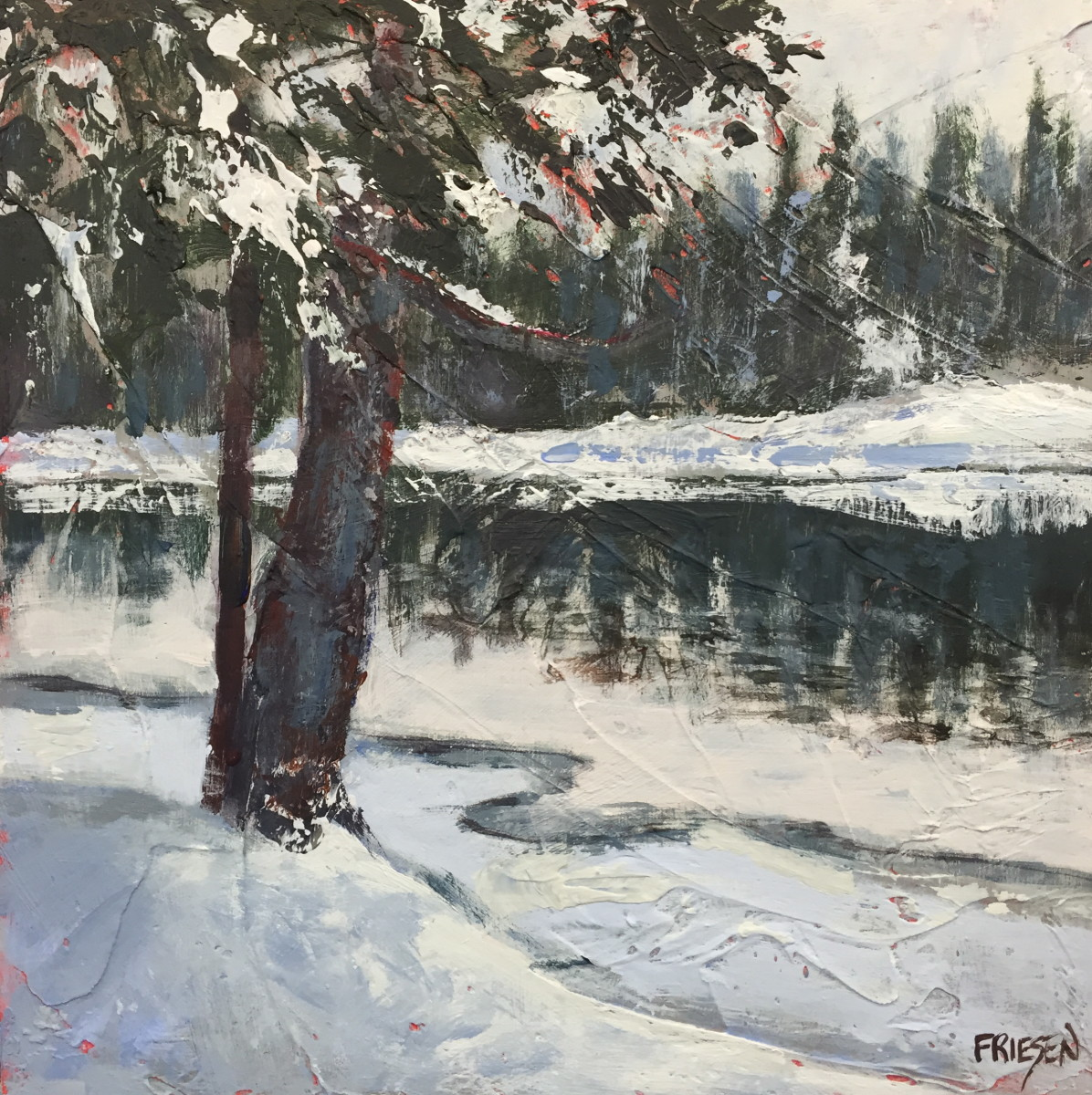River Flow by Holly Friesen