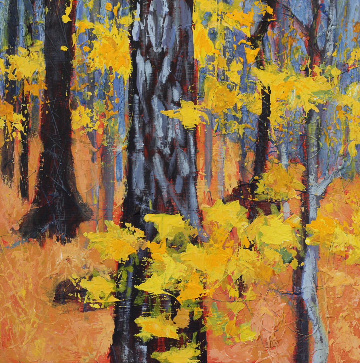Ode to Yellow by Holly Friesen