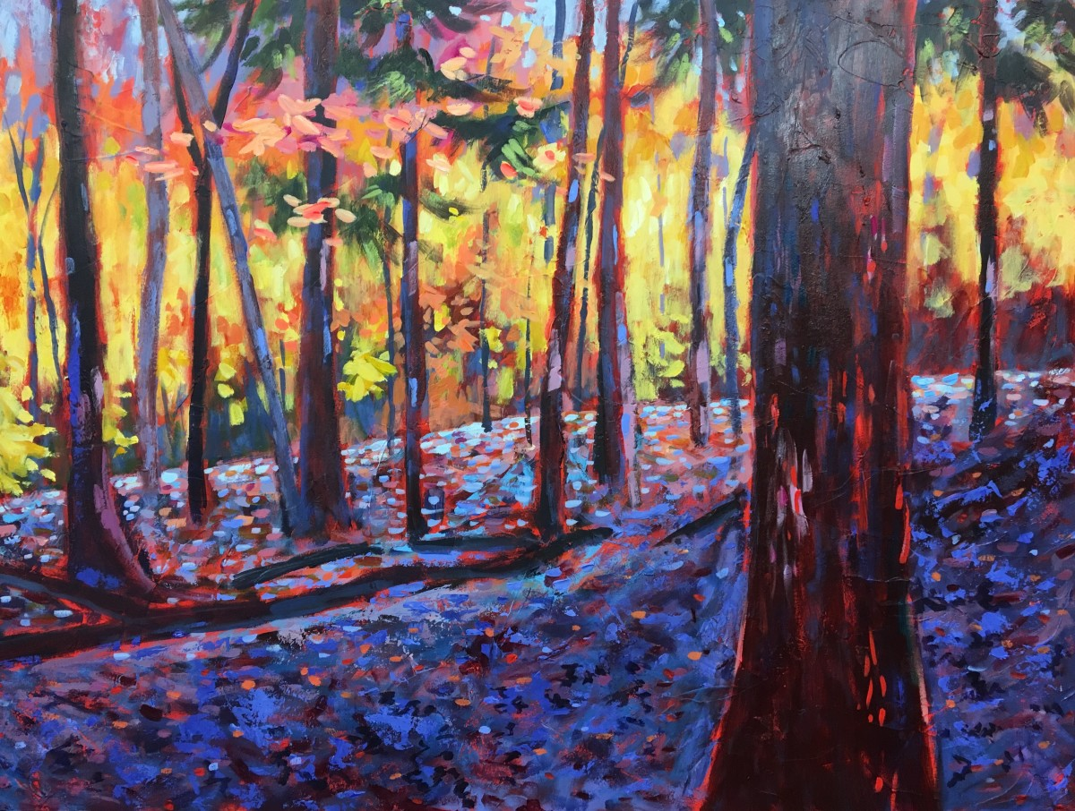 Forest Bathing by Holly Friesen
