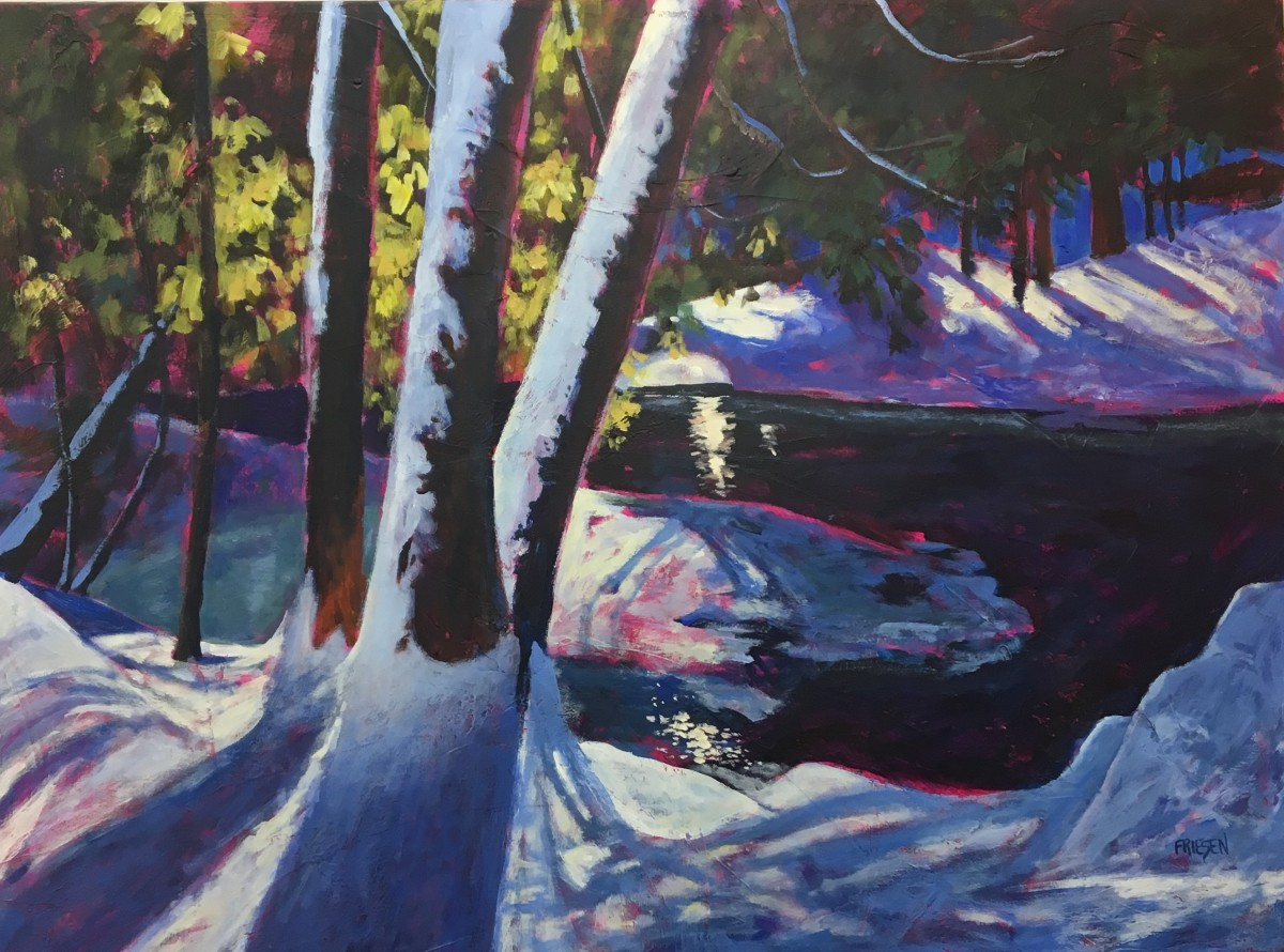 Upstream by Holly Friesen