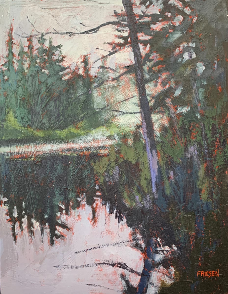 Morning Paddle by Holly Friesen
