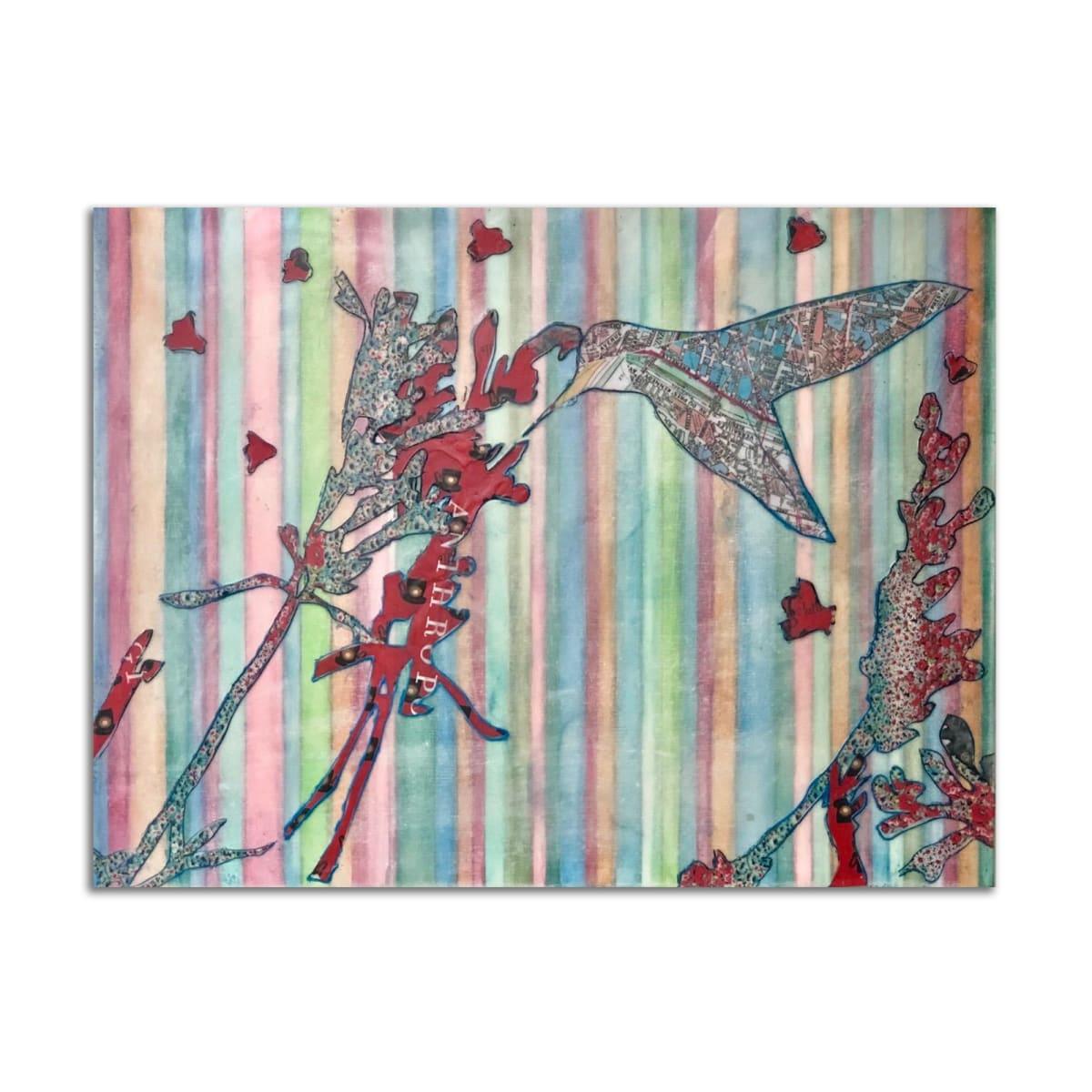 Anthropologie Hummingbird by Kat Allie