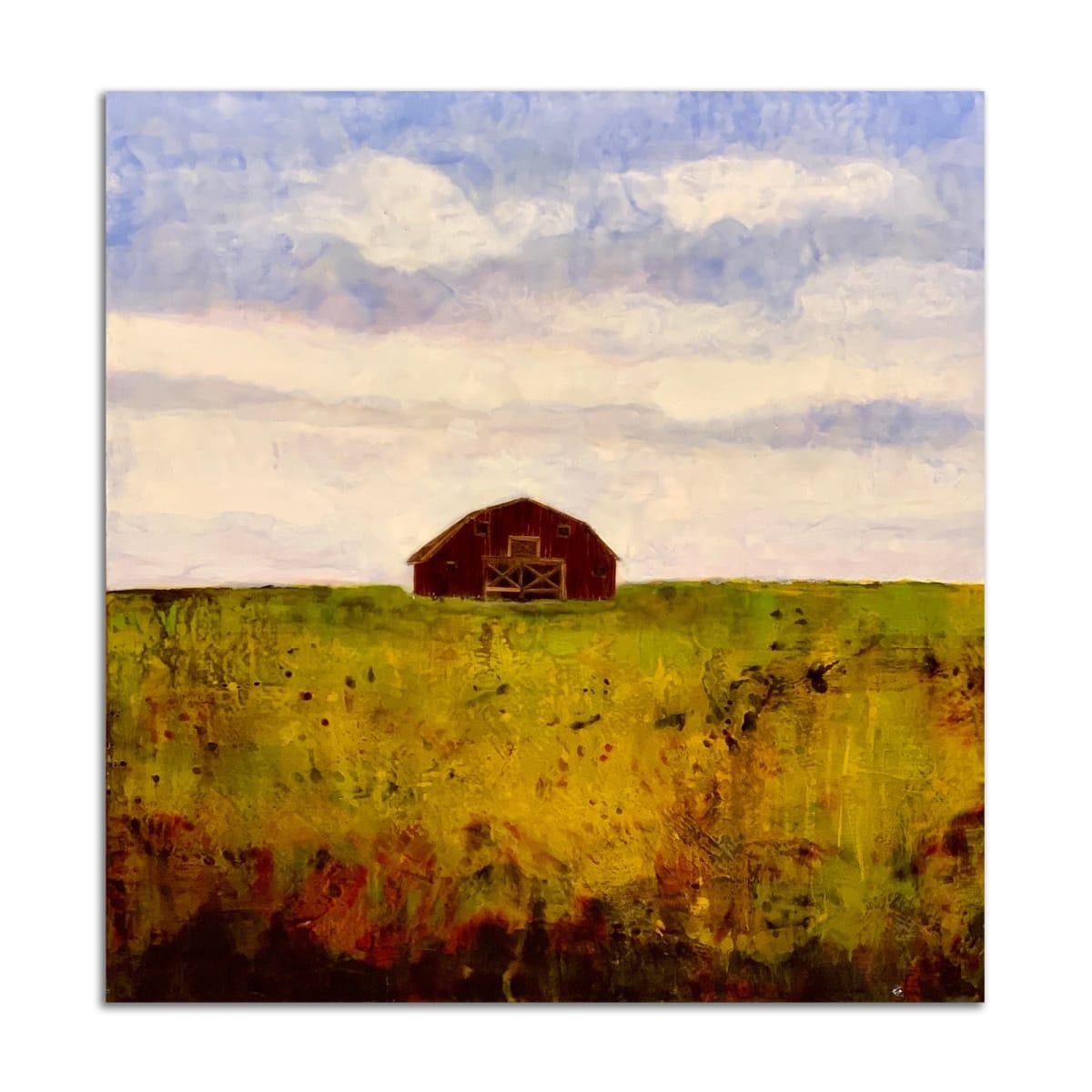 Barn at Hidden Brook by T.D. Scott