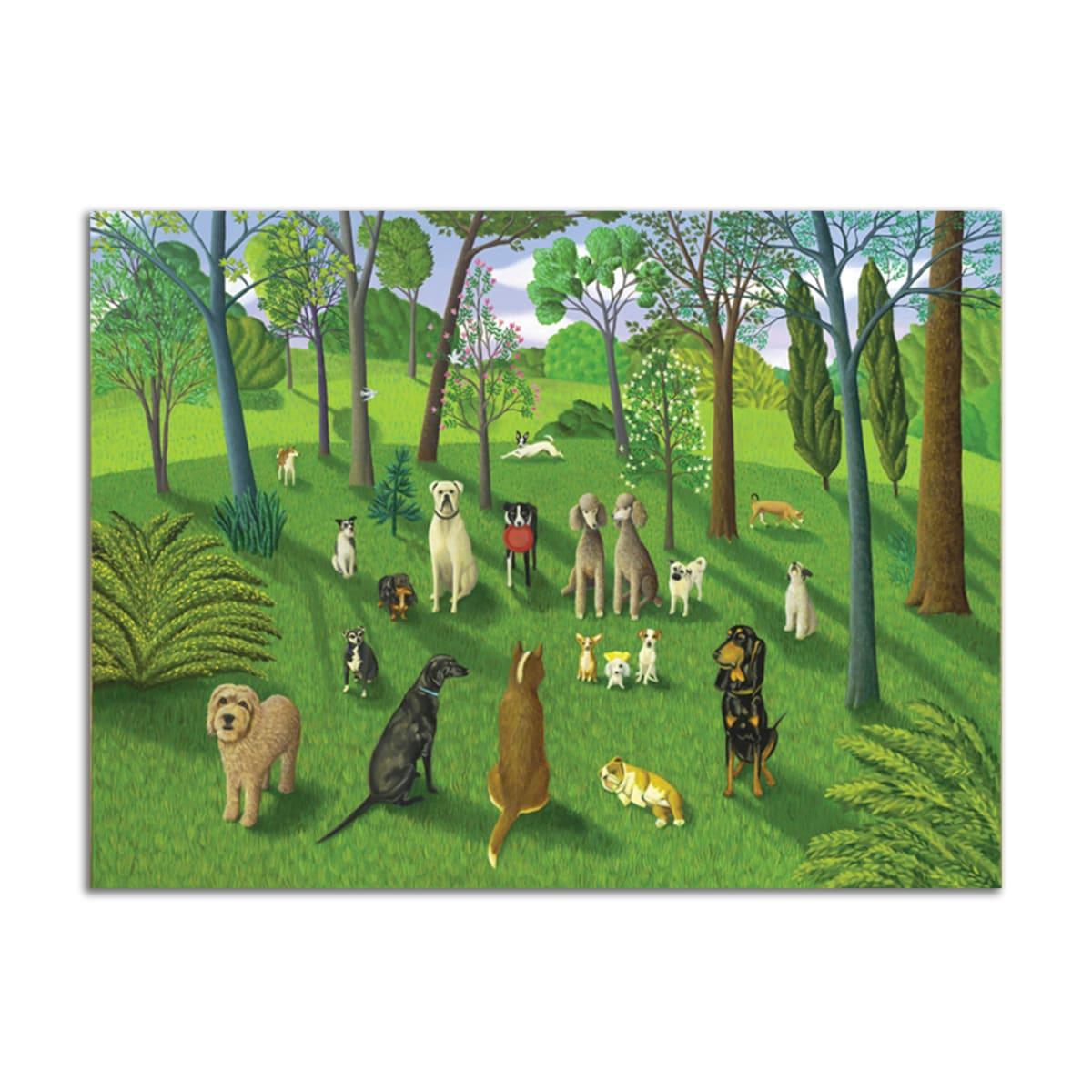 Dog Park III by Jane Troup