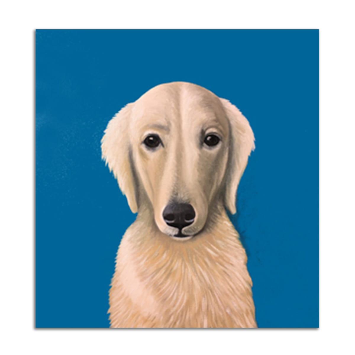 Portrait of Dog by Jane Troup